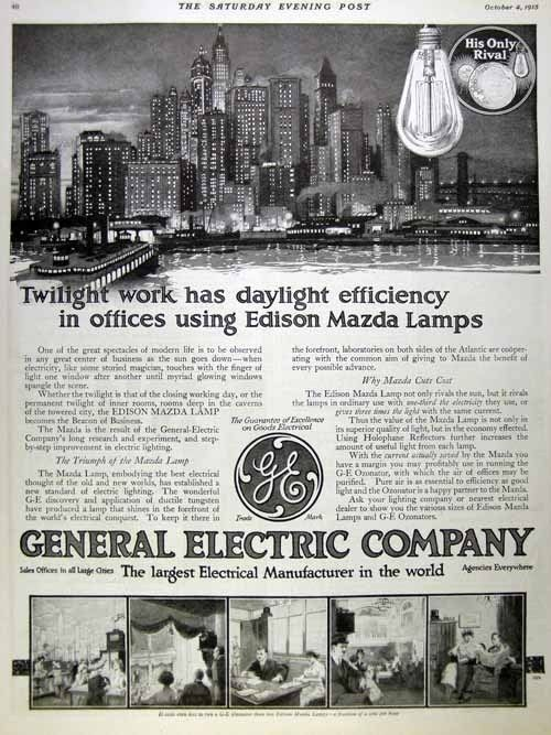 Timeless Ge Ads Through The Years Ads General Electric Over