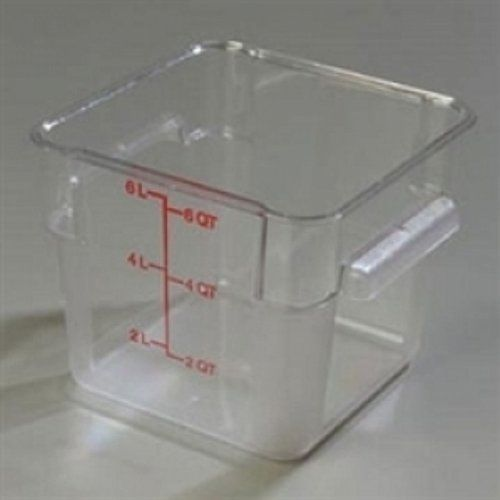 Square Storage Containers By Carlisle Foodservice CONTAINER