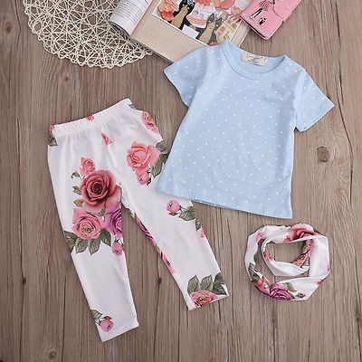 $5.44 (Buy here: https://alitems.com/g/1e8d114494ebda23ff8b16525dc3e8/?i=5&ulp=https%3A%2F%2Fwww.aliexpress.com%2Fitem%2F2016-New-Toddler-Infant-Girls-Outfits-Headband-T-shirt-Floral-Pants-Kids-Clothes-Set-3PCS%2F32703497481.html ) 2016 New Toddler Infant Girls Outfits Headband+T-shirt+Floral Pants Kids Clothes Set 3PCS for just $5.44
