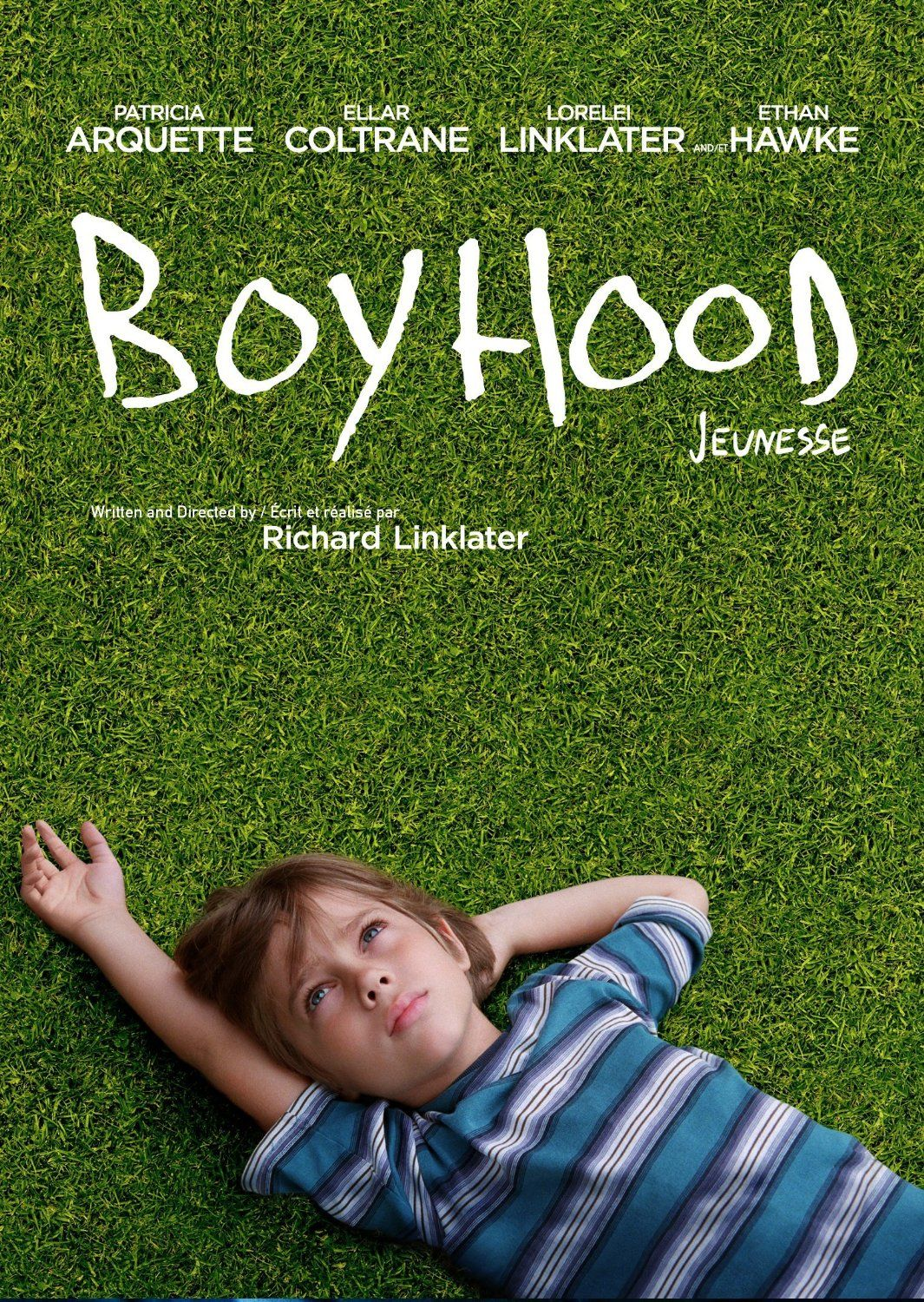 Boyhood (Bilingual): Ethan Hawke, Patricia Arquette, Ellar Coltrane, Richard Linklater