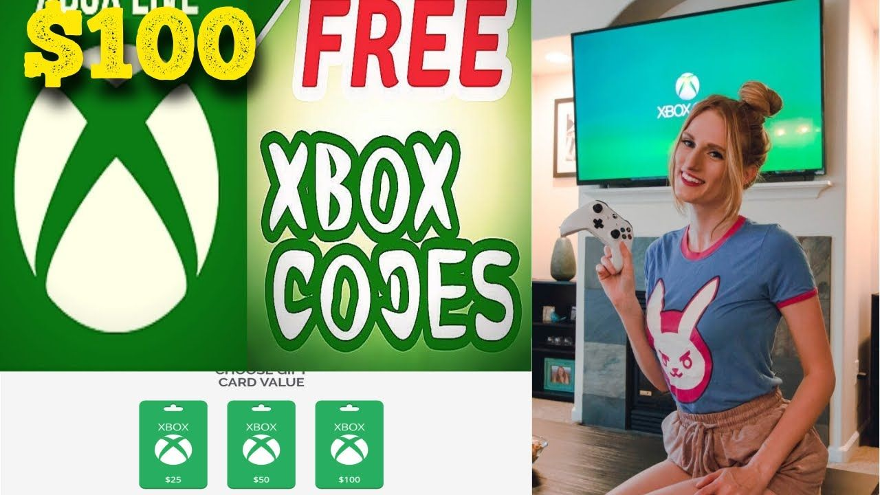 Get A 100 Xbox Gift Card Free. in 2020 Xbox gifts, Xbox