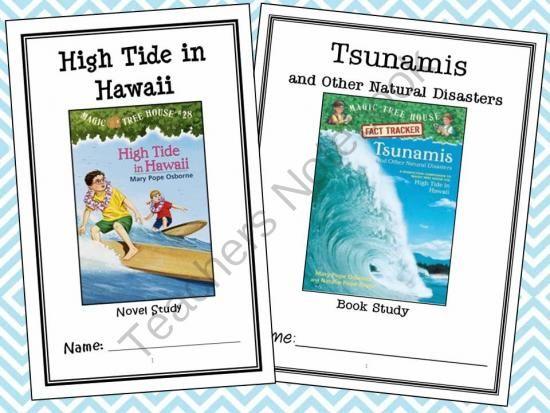 High Tide In Hawaii Tsunamis Research Guide Magic Tree House