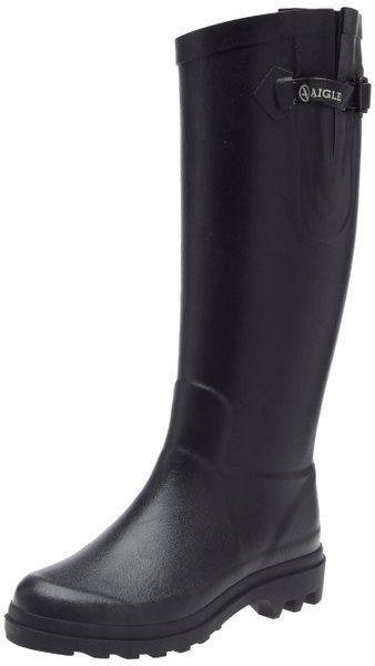 erstklassiges echtes exklusive Schuhe zuverlässige Qualität Aigle Aiglentine Gummistiefel, Damen Langschaft Gummistiefel ...