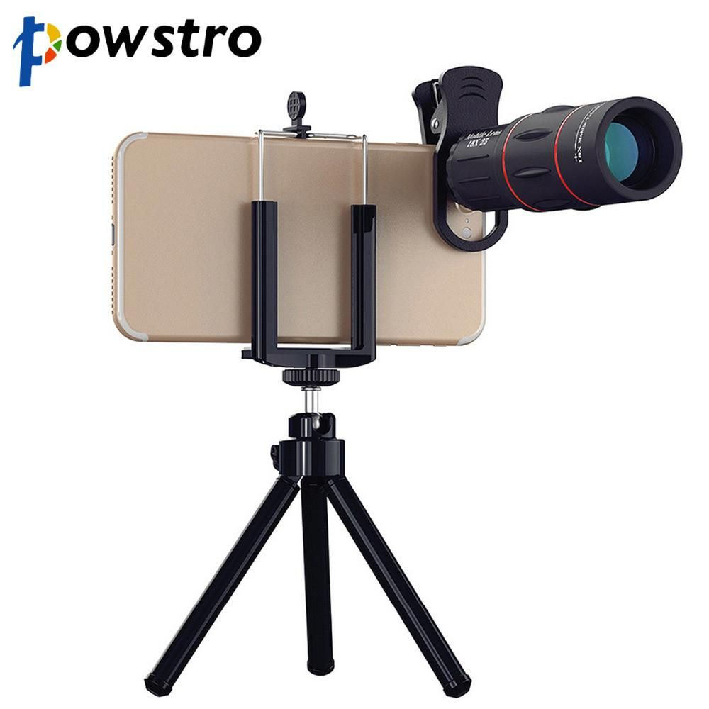 18x Zoom Telescope Phone Camera Lens Mobile Camera Lens Phone