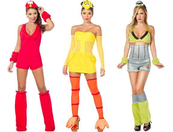 sexy sesame street halloween costumes elmo big bird oscar the grouch gah - Halloween Costumes Elmo
