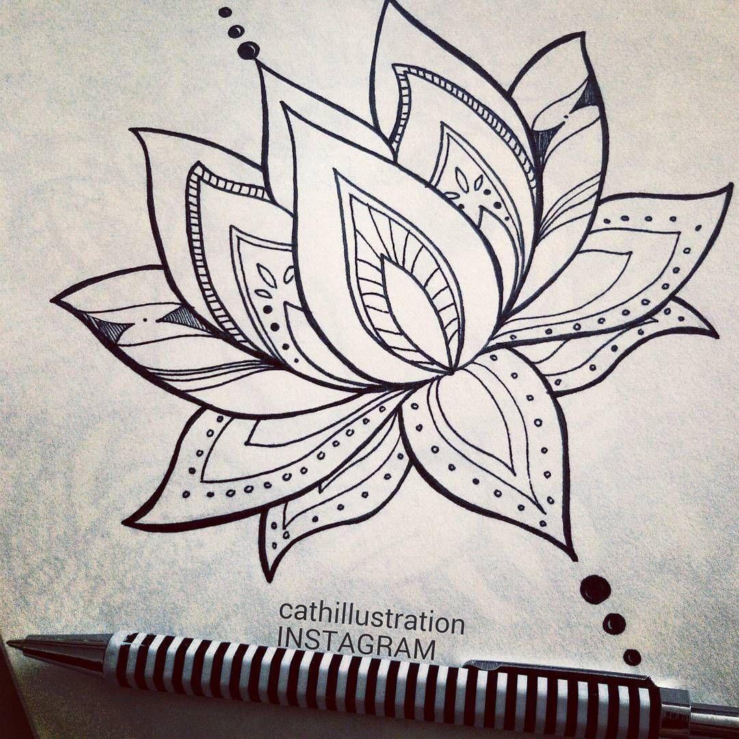 Resultado De Imagen De Lotus Mandala Tattoo Tatuajes Flor De Loto