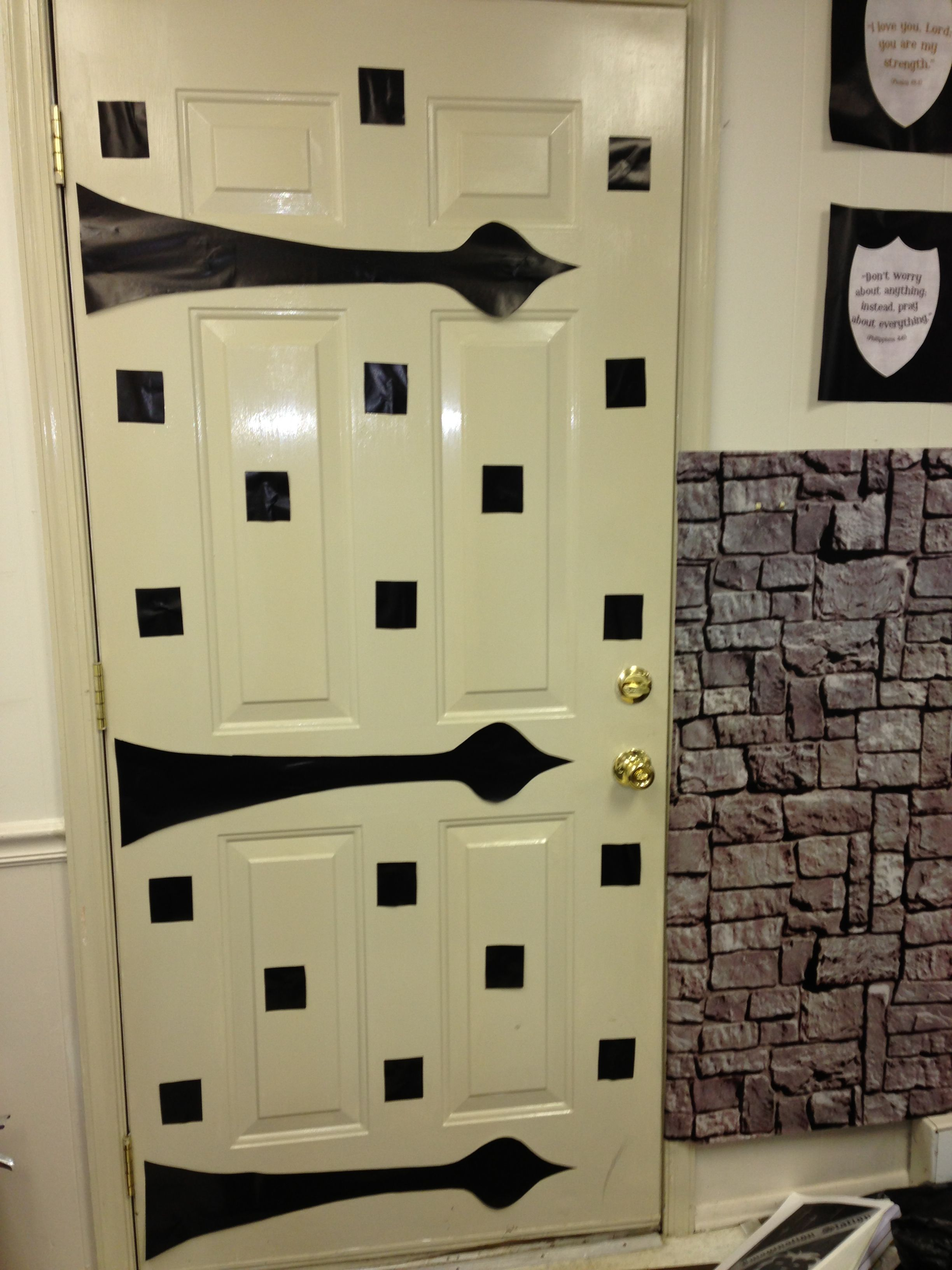door for vbs kingdom rock | vbs 2013 | pinterest | doors and rock