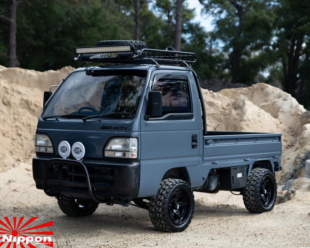 1994 Honda Acty Prime Time Nippon Imports In 2020 Mini Trucks Honda Mini Van