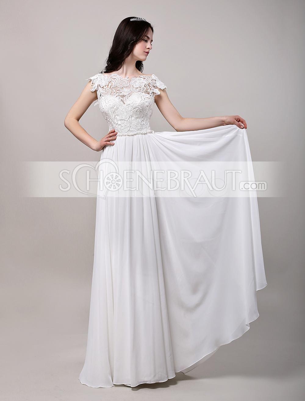 Ausgefallene Vintage Hochzeitskleider Fur Mollige Standesamt Mit