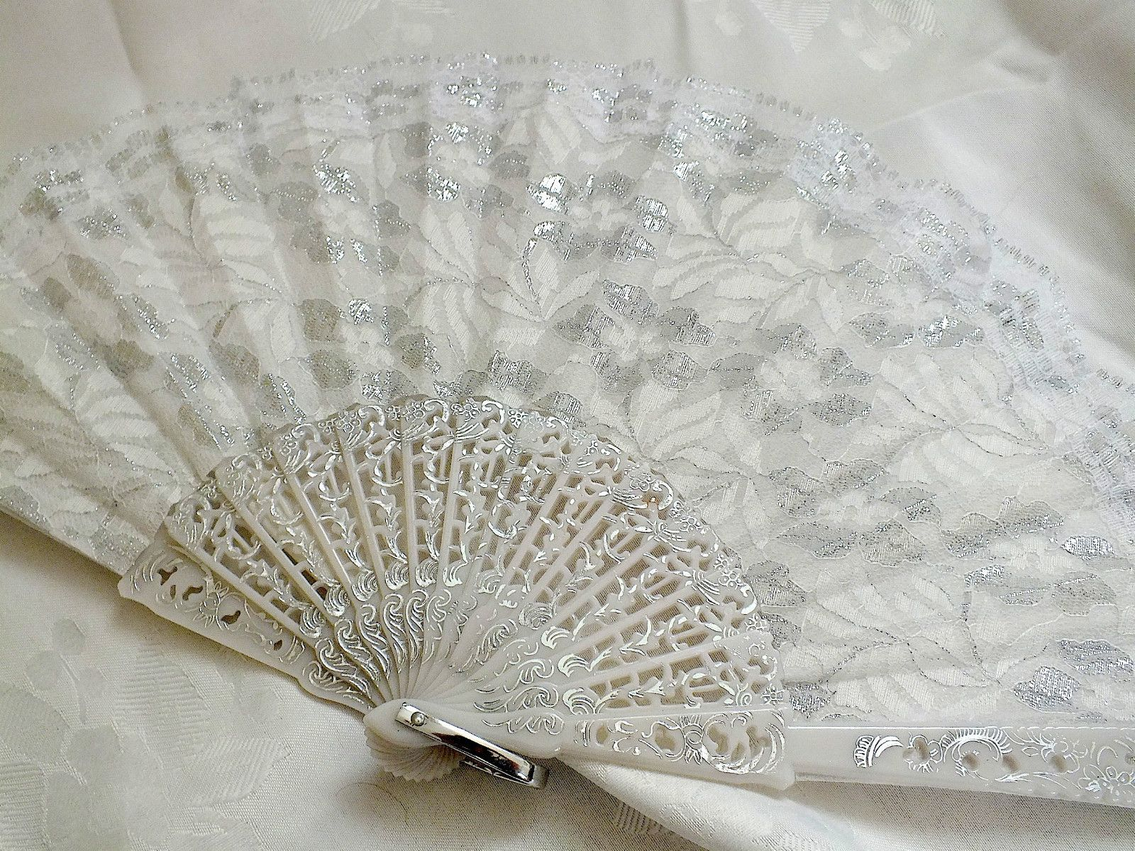 Image Detail For White Silver Lace Spanish