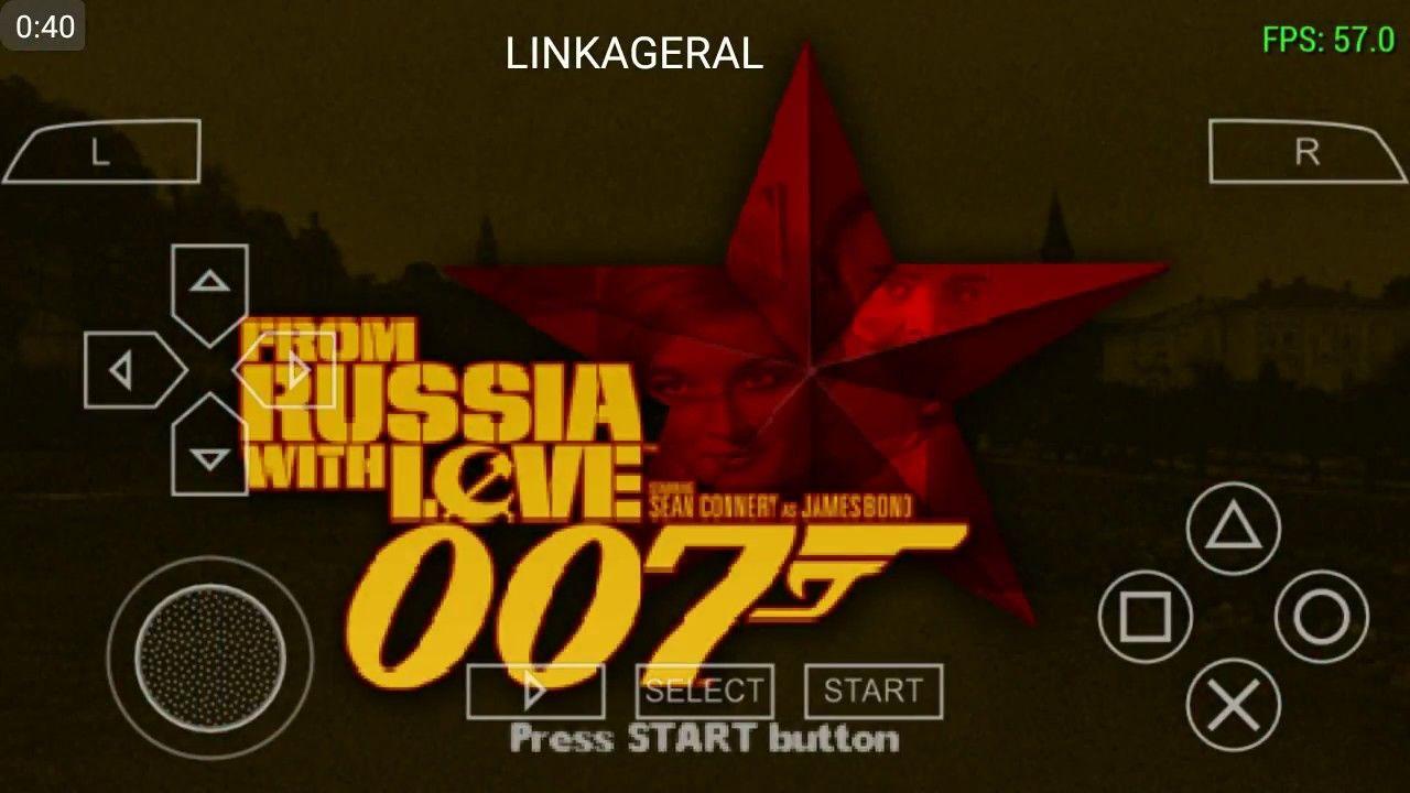 007 Russia With Love Jogo Para Android Com Ppsspp Com Imagens