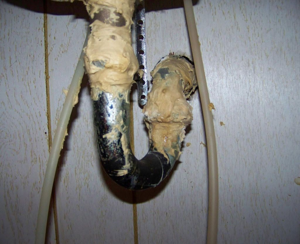 Do It Yourself Plumbing: Plumbing Drain Repairs Done By Another 'happy Do-it