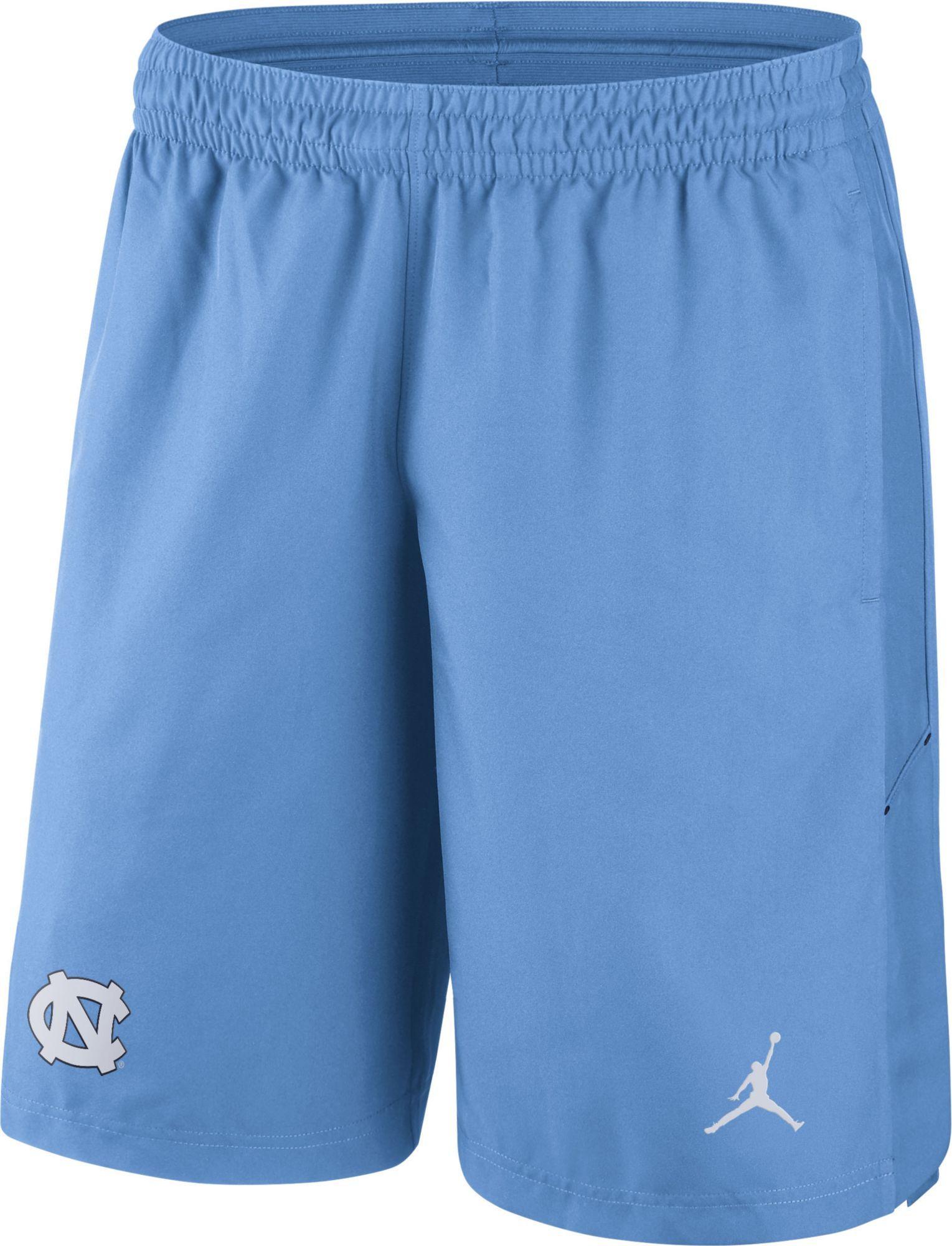 361ead080d1 Jordan Men's North Carolina Tar Heels Navy Fly Knit Football Shorts, Size:  Medium, Team