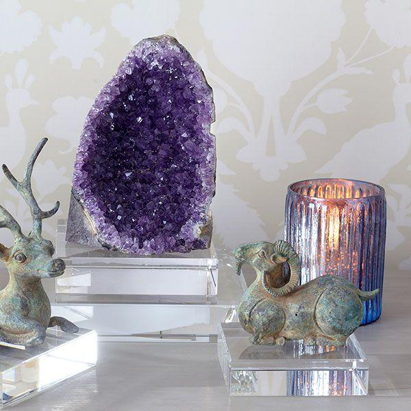 Geode Decor amethyst geode | amethyst geode, wisteria and amethysts