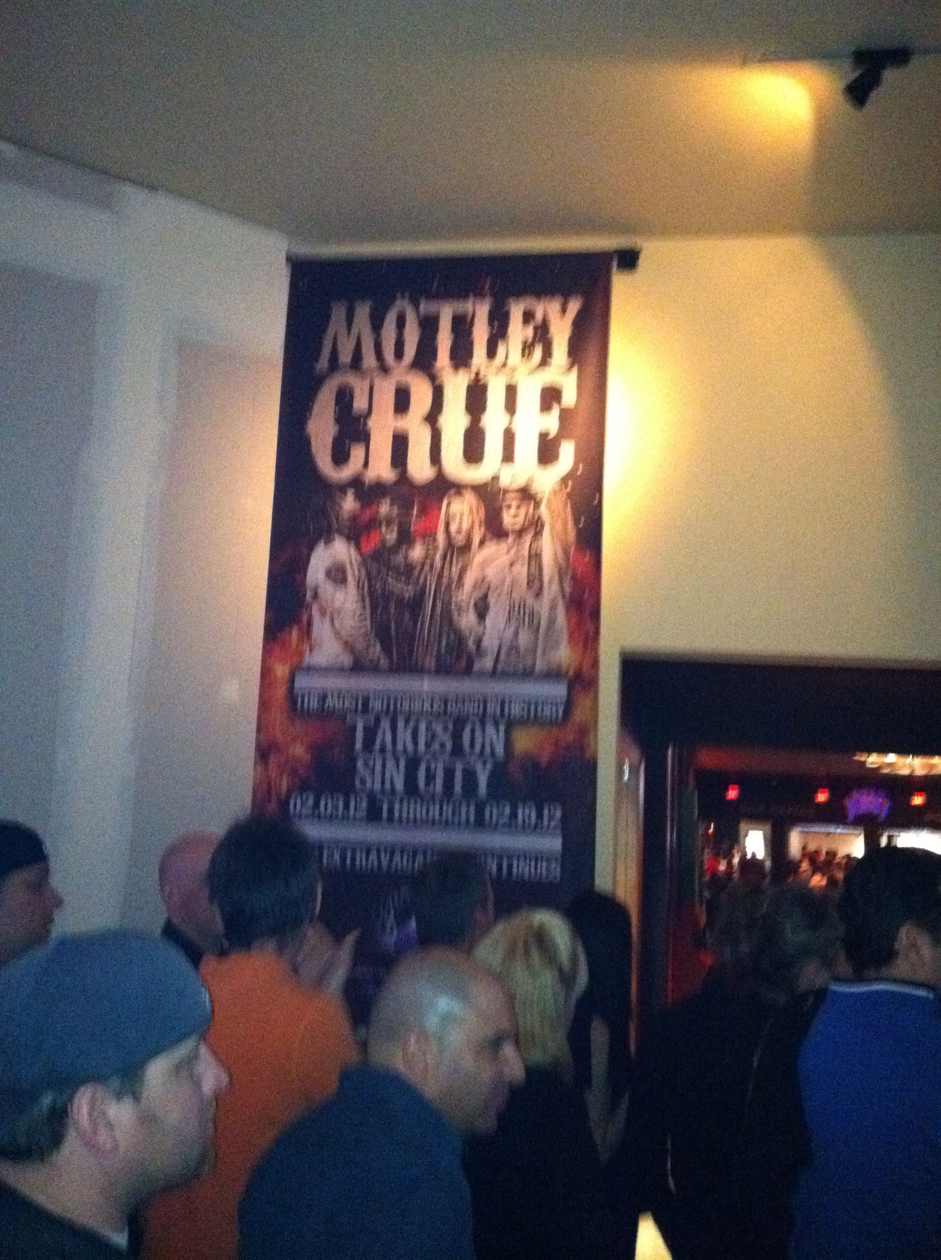 Motley Crue @ The Joint LV