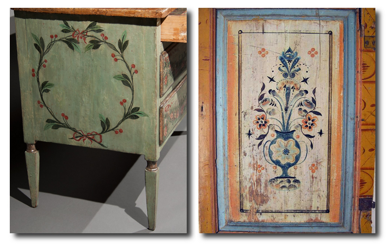 Florence De Dampierre Comments On Nordic Furniture In Sweden And Denmark Nordic Furniture Scandinavian Folk Art Folk Art Painting