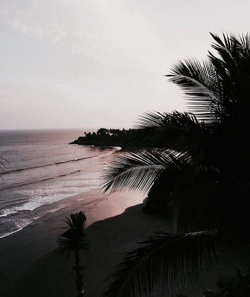 Image About Beach In Views By Ronnychick On We Heart It Landscape Illustration Beach Photography