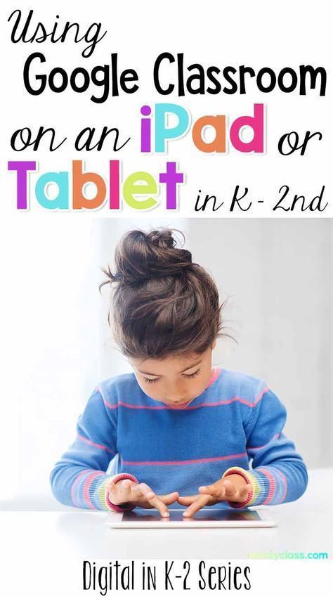 How to Use Google Classroom on an iPad or Tablet in K-2 - The Candy Class How to Use Google Classro