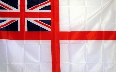 UK Ensign White Historical 3'x 5' Flag