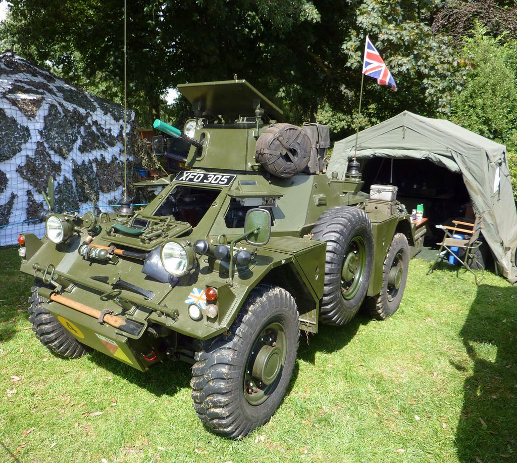 Daimler Ferret Scout Car With Images Military Vehicles Army