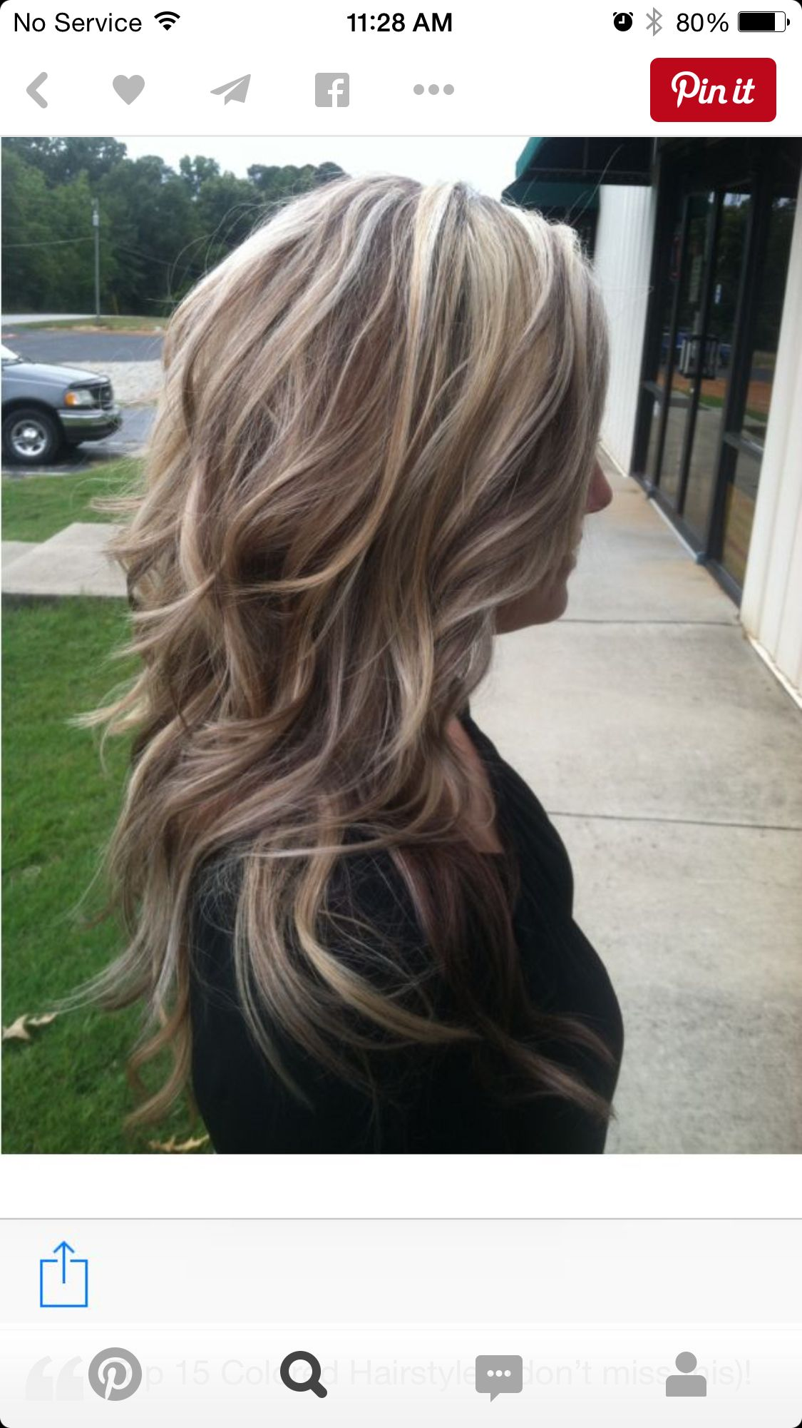 Love This Color Chocolate Blonde