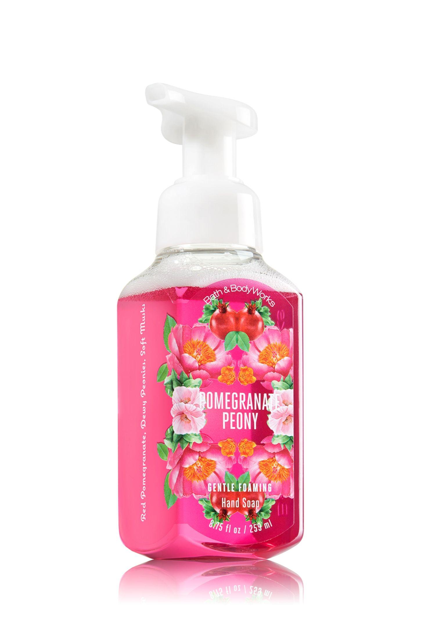 Pomegranate Peony Gentle Foaming Hand Soap Soap Sanitizer Bath