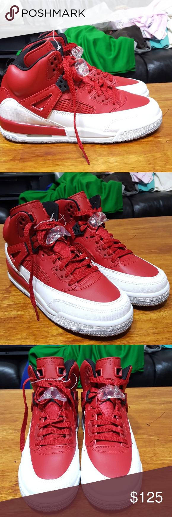 buy popular 480c1 faac5 Air Jordan Spizike Red 315371-603 sz 8 Chicago New Air Jordan Spizike