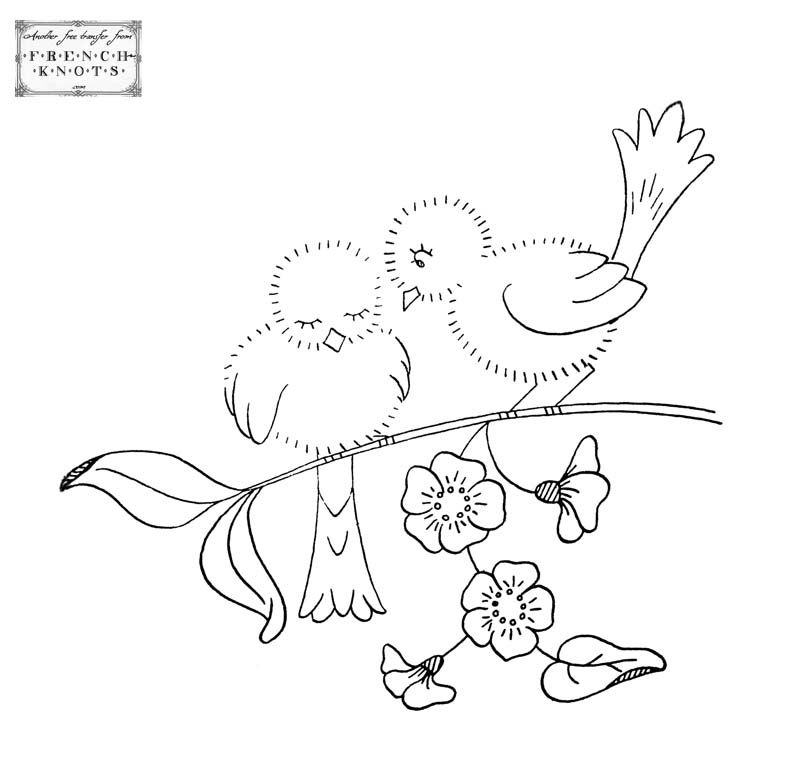 Chickens Rooster And Birds Embroidery Transfer Pattern Pinterest