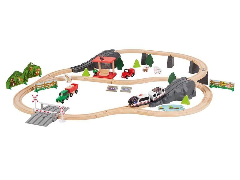 Playtive Junior Treinbaan Houten Speelgoed Speelgoed Houten