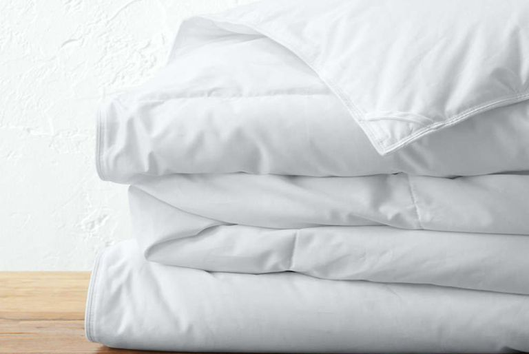 The Company Store White Bay Down Comforter Bed Down Comforter