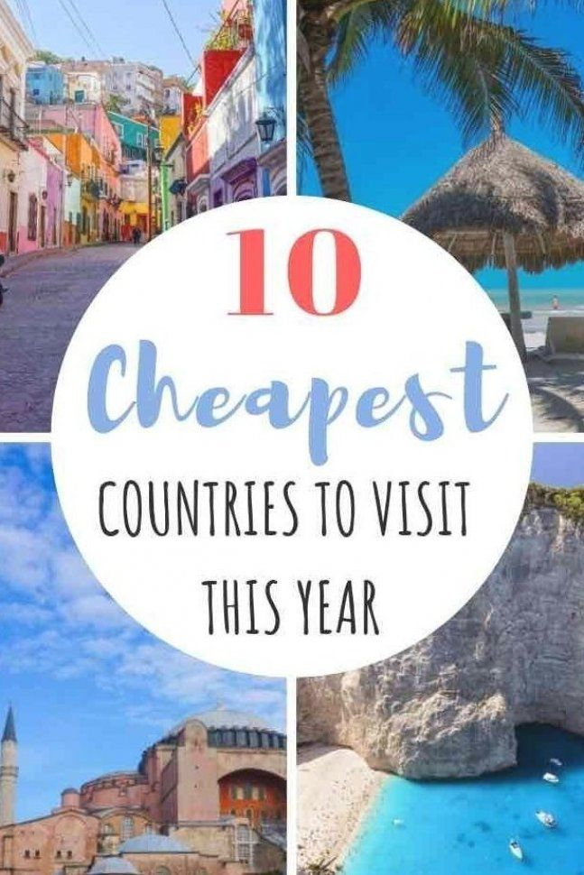 Travelling on a limited budget  Then you   re going to want to check out this frugal travel guide to find the cheapest countries for your backpacking itinerary  Whether you want to vacation on a European beach in Greece  or surround yourself with palm trees in Thailand  there is a travel destination for you  #travelhacks #cheaptravel #budgettravel