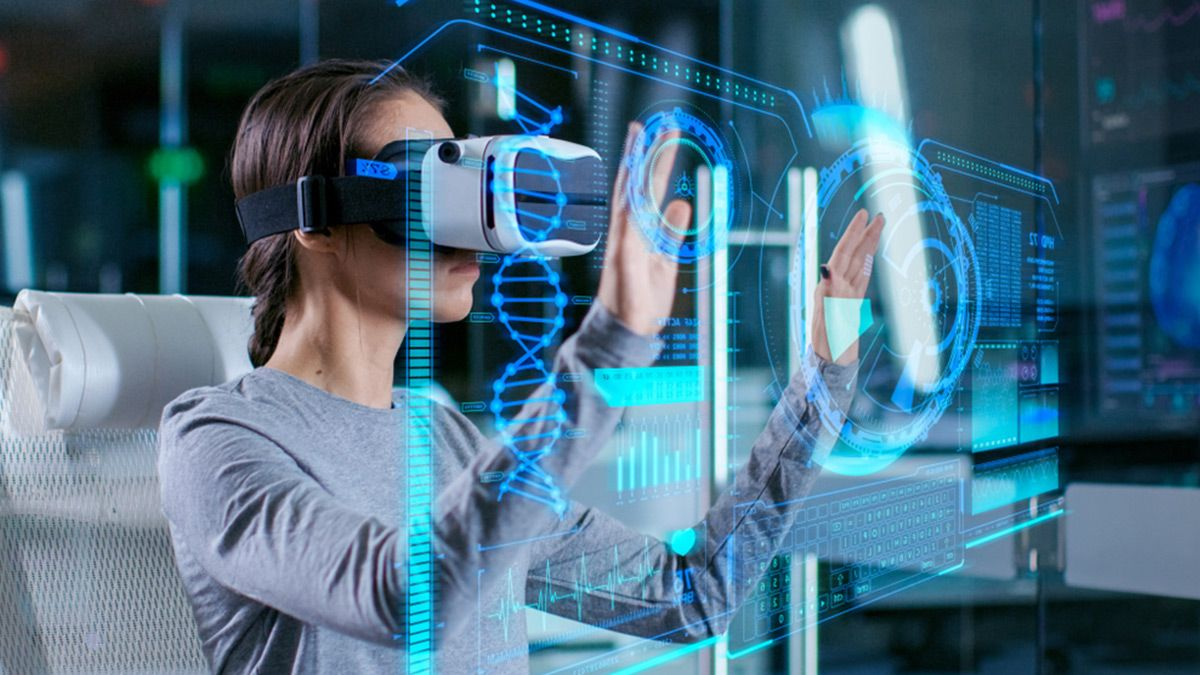 Top Ar And Vr Technology Trends Marking The Uprise In The Future Augmented Reality Technology Virtual Reality Education Virtual Reality