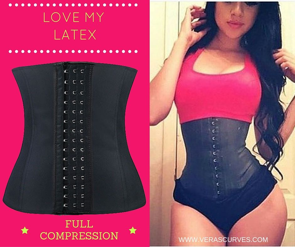 Keep it tight with our new latex waist trainer which offers full compression. Get your's today!