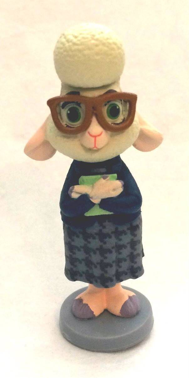 Check Out This Disney Zootopia Assistant Mayor Bellwether Figure Cake Topper Figurine On Brisksale Disney Zootopia Zootopia Zootopia Cake