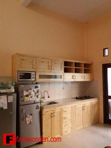 Kitchen Set Jati Belanda Rumah