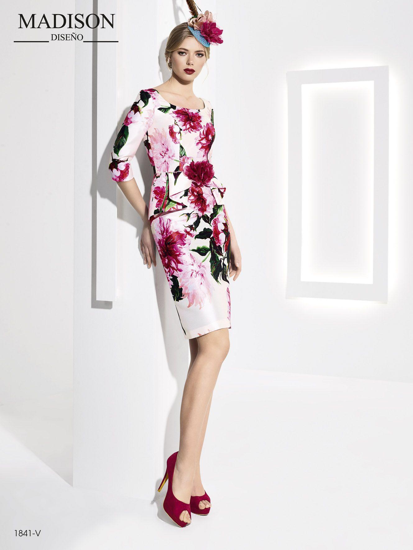 967d607637 Elegante vestido de fiesta  Madison en mikado estampado  vestidodefiesta   fashion  moda  gala  glamour  invitadaperfecta   dressing  dress  love