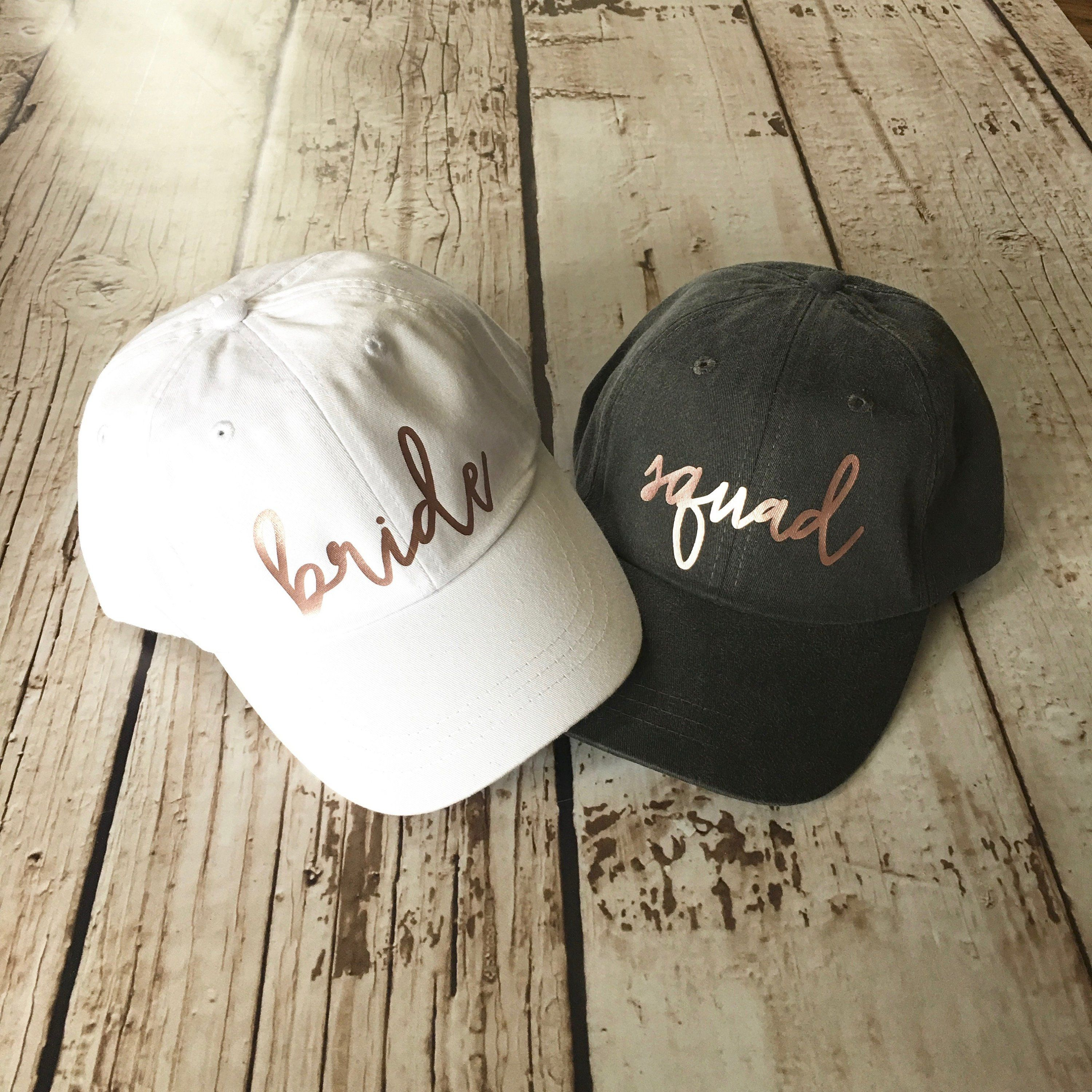 Bride Tribe Bride Squad Hat Hen Party Wedding Party Mesh Cap Hen Night Cap Gifts