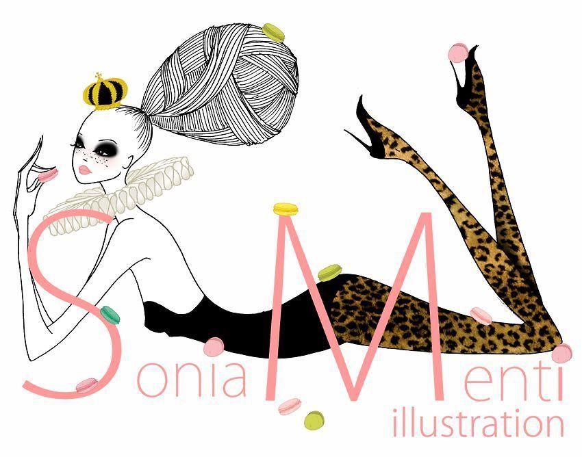 sonia menti — Sonia Menti illustration
