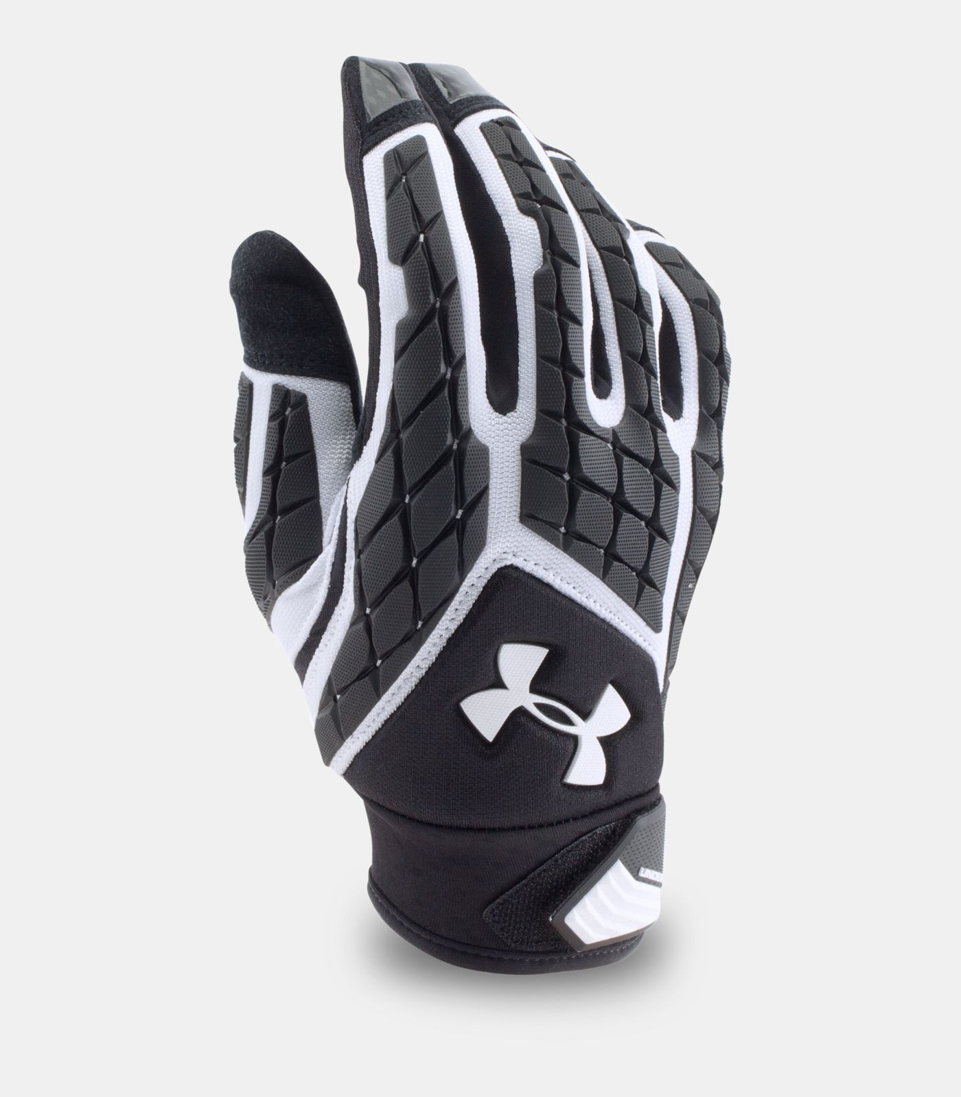 Mens ua combat v football gloves with images football