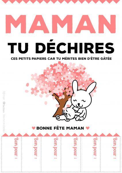 Bons Cadeaux Fete Maman Bon Fete Maman Carte Fete Des Meres