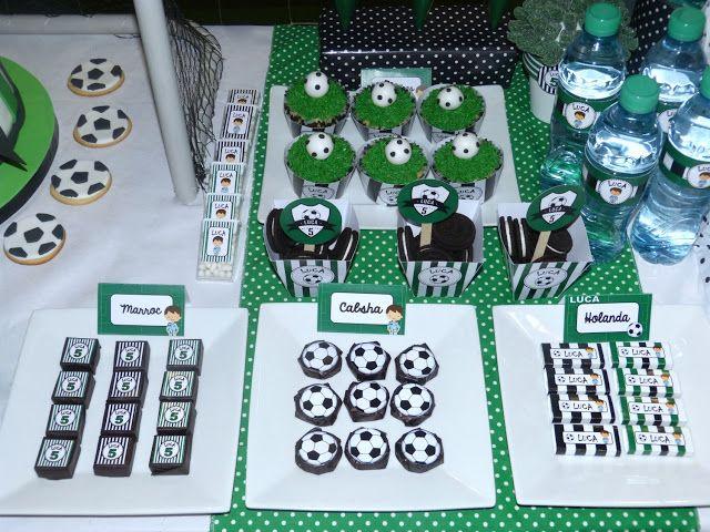 Golosinas personalizadas futbol arreglos dulces - Golosinas para cumpleanos de ninos ...