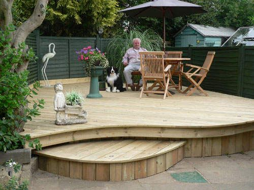 Patio and deck ideas modern patio design ideas outdoor for Outside decking material