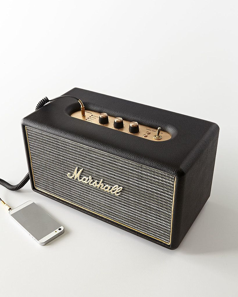 10 Unexpected High Tech Gifts For Him Vintage Inspired Marshall Stanmore Speaker