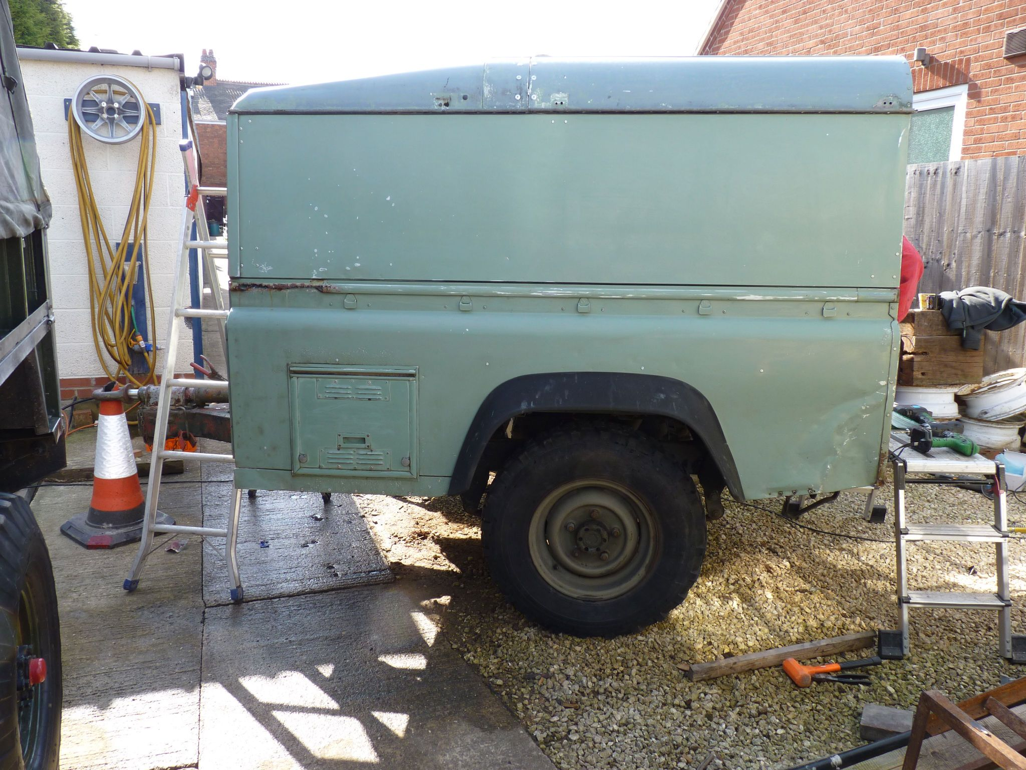 Land Rover Body Trailer Google Search Land Rover Camping Land