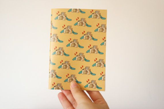 2014/2015 Small Soft Cover Weekly Planner - Custom Cover Daily Agenda A6 - Handmade Bookbinding Planner - School Small Daily Planner