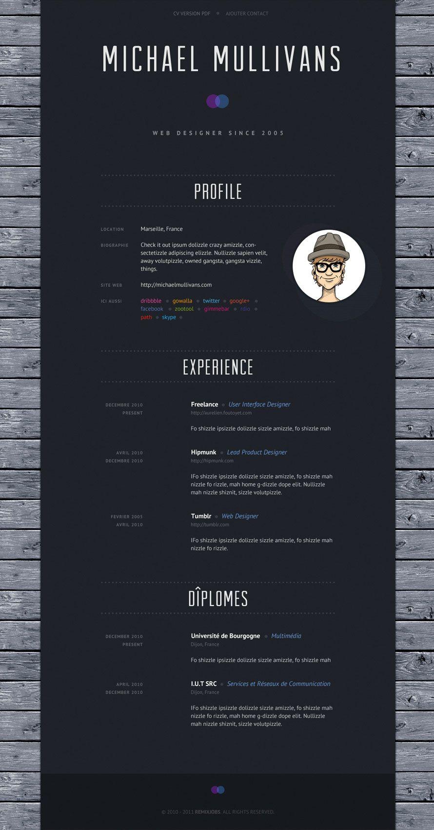 Emploi Informatique Et Recrutement Freelance Remixjobs Developpeur Developpeur Informatique Portfolio Exemple