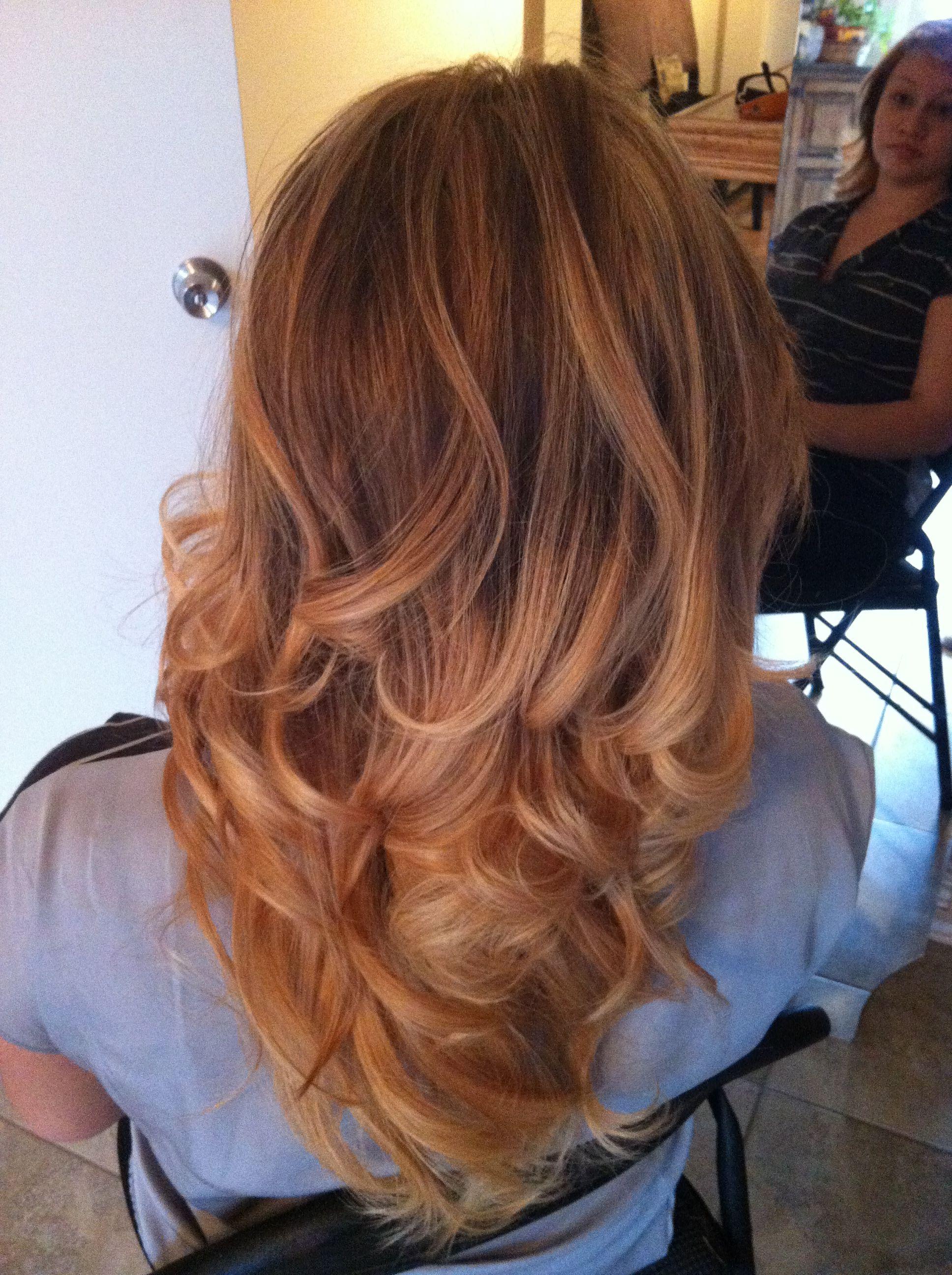 Ombré hair by Ashley Vee Hair, Ombre hair, Dyed hair