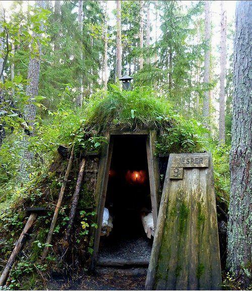 Forest hotel. Kolarbyn, Sweden