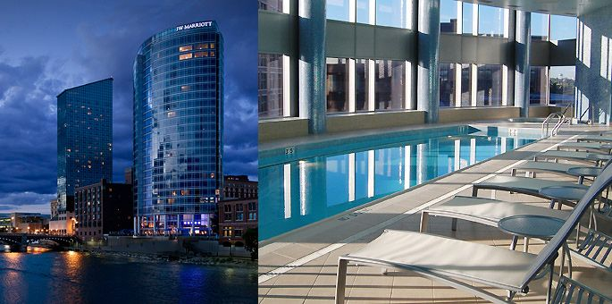 Located In Downtown Grand Rapids Michigan The Jw Marriott Is Considered A World Cl Hotel For Both Business And Pleasure