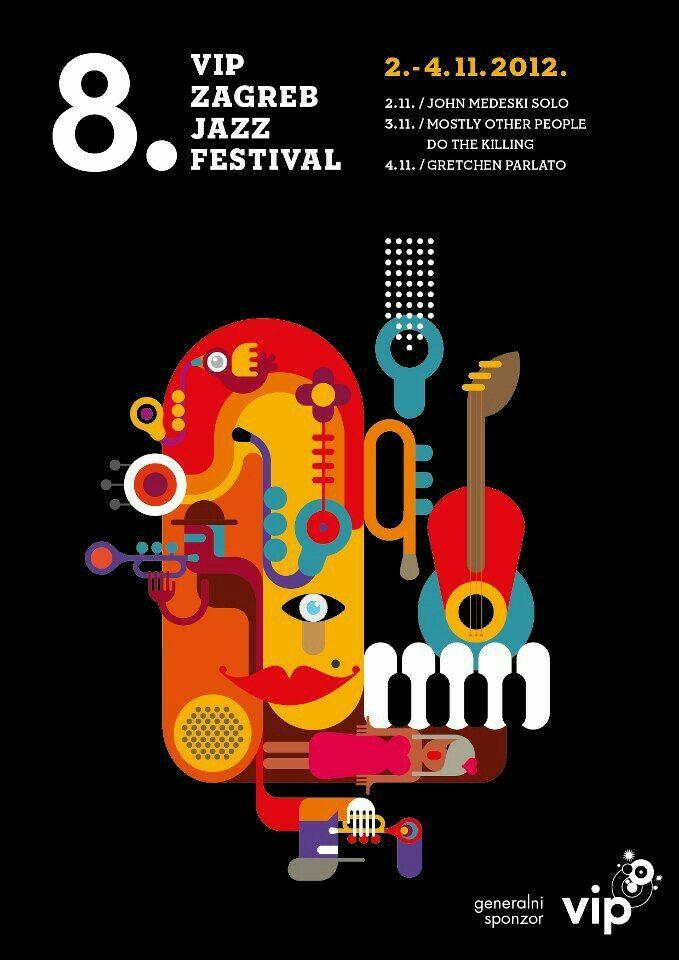 Jazz Festival Poster Music Poster Design Music Festival Poster Festival Design